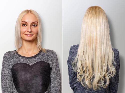 Prodlužování vlasů: před aplikací a po aplikaci
